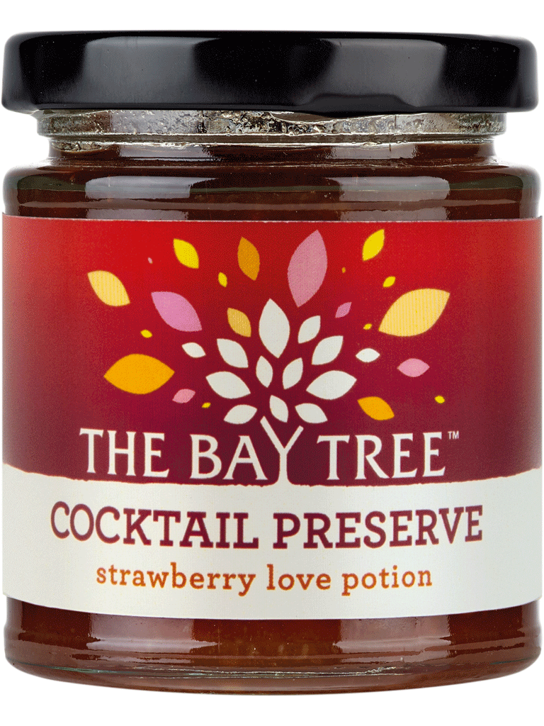 Strawberry Love Potion Cocktail Preserve