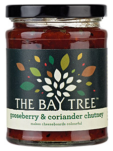 Chutney with no onion - The Bay Tree Gooseberry & Coriander Chutney