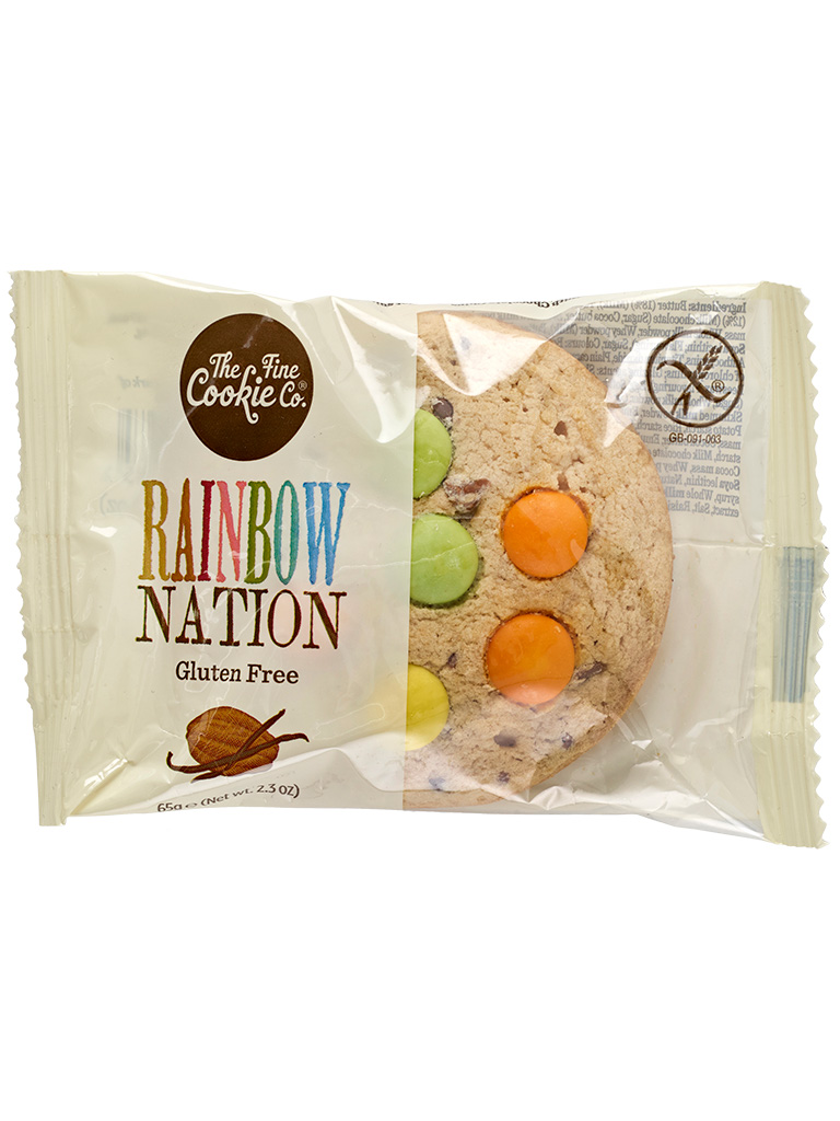 Gluten Free Rainbow Nation Cookie