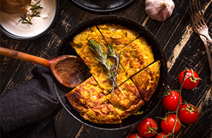Recipes using chutney - Spanish Tortilla