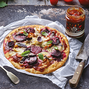 Harvest glut pizza recipe
