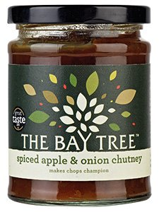 Chutney with no tomato - The Bay Tree Spiced Apple & Onion Chutney